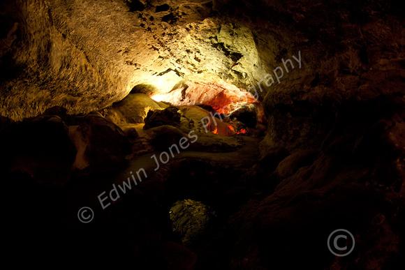 Lanzarote Lava Cave Path Original