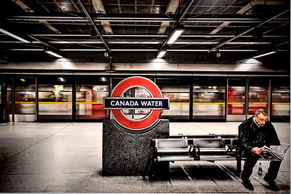 Transform Canada Water Train Wait  Before Transform