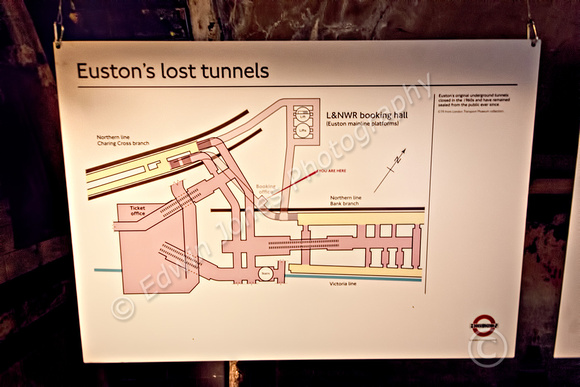Plan Euston Lost Tunnels